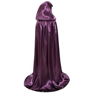 Deloito Mom and Me Cloak,Womwen Men Hooded Cloaks Party Cosplay Custome Kids Christmas Costume Hooded Cape Robe Boys Girls Cloak Outwear