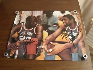Vintage 1990's Michael Jordon & Magic Johnson Basketball Poster VGC!!!
