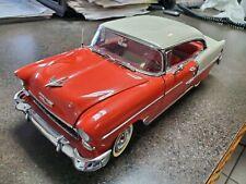 Large Danbury Mint 1955 Chevrolet Bel Air Diecast Model Scale 1:16