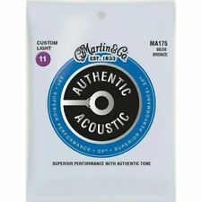 Two Sets of Martin MA175 Acoustic Custom Light Guitar Strings