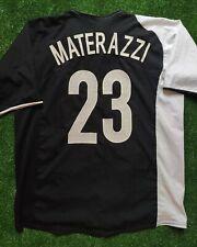 Maglia calcio INTER 2005 jersey special edition rare no racism Nike MATERAZZI XL