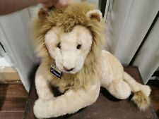 "Gund Design King Of The Jungle Lion With Tags Great Shape! 36"" Stuffed Animal"