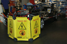 Laser Tools 8000 | Folding Safety Barrier - Hybrid / Electric Vehicle