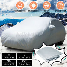 XXL Large Universal Full Car Cover Anti UV Dust Sun Scratch Resistant 5.3x2x1.5m