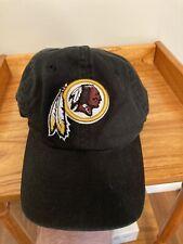 New listing Washington Redskins NFL Football Black Reebok Adjustable Hat One Size