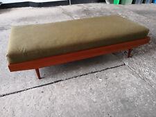 Sofa Daybed 60er Jahre Teak danish vintage sofa 50er