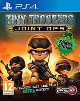 Tiny Troopers Joint Ops Sony Playstation 4 PS4 Game