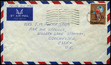 SIngapore 1970 Commercial Airmail Cover To UK #C37859