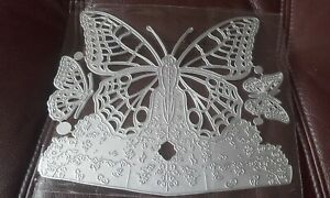 Metal Cutting Dies, Butterfly - fits with carnation crafts - Above the clouds