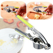 Hot Garlic Press Hand Presser Crusher Ginger Squeezer Slicer Masher Kitchen Tool