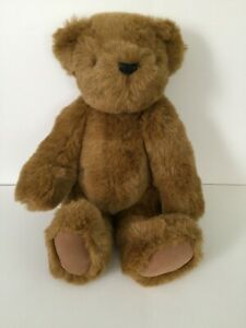 """Vermont Teddy Bear 14"""" Classic Fully Jointed 1998"""