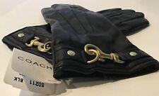 Coach Cashmere & Black Dogleash Leather Women's Size 8 NWT UPC #884830264593