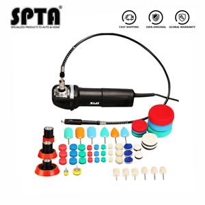 SPTA Mini Rotary Polisher  Detailing Polishing Pad M14 Thread Extension Shaft