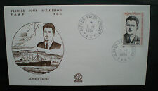 enveloppe 1er jour TAAF  Crozet 1984 ALFRED FAURE