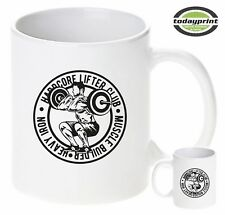 Tasse Hardcore Lifter Club, Bodybuilder, Muskleshirt, Gym, Fitness, neu