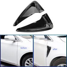 Car Black Side Body Marker Air Flow Fender Wing Vent Trim Cover for Honda Audi