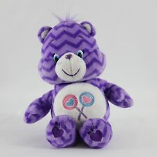 Share Bear Care Bear Purple Cheveron Zig Zag Lollipops 2016 8""