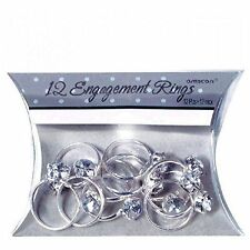 Adult Fancy Party Event Celebration Engagement Rings Table Sprinkles PK of 12 UK