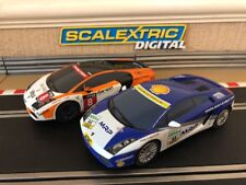 Scalextric Digital Lamborghini Great Condition Fully Serviced & New Braids