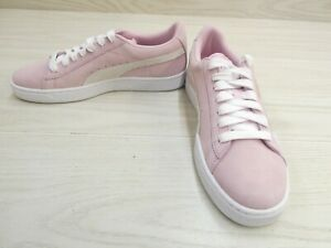 Puma Kids Suede Jr Casual Sneaker - Big Girl's Size 7C, Pink NEW