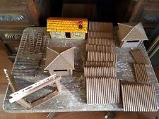 Vintage MAR  Marx ~Rin Tin Tin Fort Apache Stockade~ Play Set  Series 500   1955