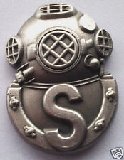 US NAVY DIVER SALVAGE Military Veteran  Hat Pin P12743 EE