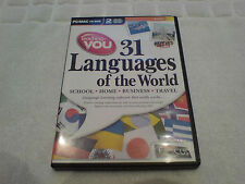 PC/MAC CD-ROM 31 Languages of the world