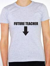 TEACHER FUTURE - Education / School /Pregnancy / Pregnant Themed Women's T-Shirt
