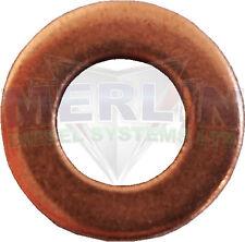 BMW E FIAT BOSCH COMMON RAIL Injector Rondella x 10 (m003-071)