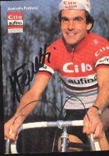 ANTONIO FERRETTI Signed CILO AUFINA cyclisme Autograph cycling ciclismo suisse