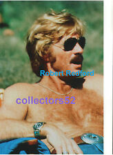 ROBERT REDFORD SEXY HUNK BEEFCAKE HAIRY BARE CHEST BLUE JEANS 11x14 PHOTO #1
