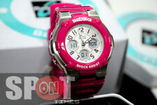 Casio Baby-G Combination Daul Times Ladies Watch BGA-110-4B BGA110 4B
