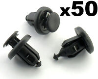 50x Honda Bumper, Engine Undertray & Wheel Arch Lining, Splashguard Trim Clips