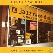 V.A. - DEEP SOUL DISCOVERIES Volume 2 CD