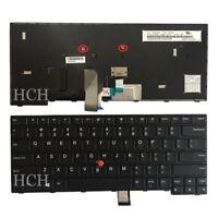 Original New For Lenovo IBM ThinkPad Edge E470 E475 US Black Keyboard 01AX040