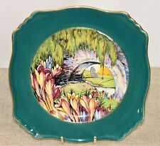 Stunning Decorative Royal Winton Grimwades Art Deco Plate - Thames Hospice
