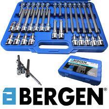 """US Pro 32pc 1/2""""Dr Torx TRX Star Bit Socket Set S2 Steel T20-T70 55-200mm 1106"""