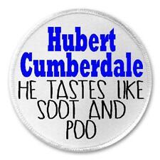 "Hubert Cumberdale Tastes Like Soot - 3"" Circle Sew / Iron On Patch Salad Fingers"