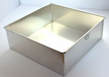Square Aluminium Cake Tin Baking Pan 9""