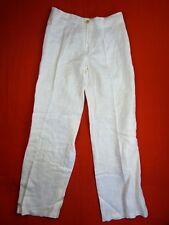 ISABEL DE PEDRO Pantalon Taille 40 Fr - MR CAT - lin - crème