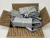 x8 Official Nintendo Wii Power Adapters RVL-002 Bulk Bundle OEM Tested