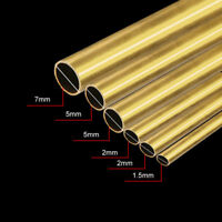 30/20cm Long Round Brass Tube Pipe Tubing Outer Diameter 2mm 3mm 6mm 8mm Durable