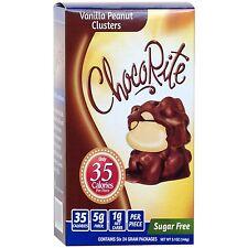 ChocoRite - Vanilla Peanut Clusters Sugar Free, Low Calorie, 6ct