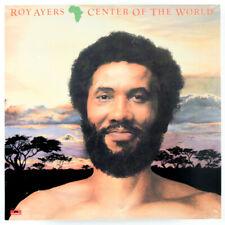 "ROY AYERS "" CENTER OF THE WORLD "" SEALED U.S. LP VINYL SOUL JAZZ R&B"