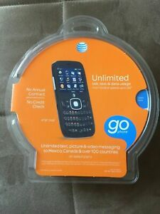NEW ZTE Z432 Black AT&T Go Phone New Factory Sealed