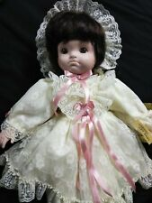"Seymour Mann Porcelain Doll ""Chrissy Cry Baby"" 18"" Tall"