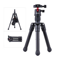 Andoer Mini Tabletop Travel Tripod Stand  with Ball Head Quick Release F8E7