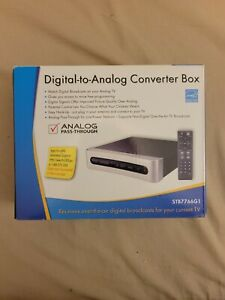 NEW RCA Digital to Analog Converter Box (STB7766G1) STILL IN BOX