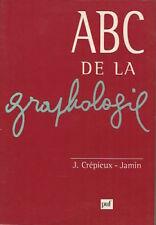 ABC de la graphologie - J. Crémieux-Jamin - PUF - 1997 - Bon état