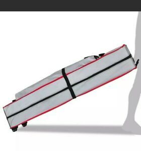 Eurmax Wheeled Pop Rolling Storage Bag with Handle for 10x10 Canopy Tents New